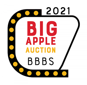 BBBS Big Apple Auction on October 9, 2021